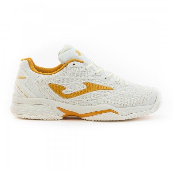 Zapatillas Tenis-Padel Mujer – T.ACE PRO 2002 Blanco-Dorado ALL COURT