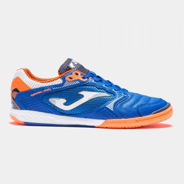 Zapatillas Fútbol Sala – DRIBLING 2104 Azul Royal-Naranja