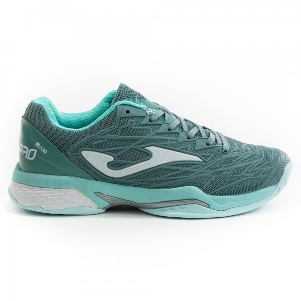 Zapatillas Tenis-Padel Mujer – T.ACE PRO 2012 Verde-Blanco ALL COURT