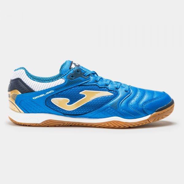 Zapatillas Fútbol Sala – DRIBLING 2034 Azul Royal-Dorado