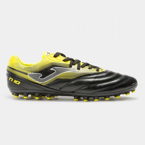 Botas Fútbol – NUMERO-10 2031 Negro-Amarillo