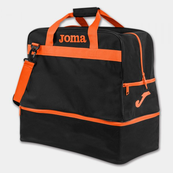 Bolsa TRAINING III Negro-Naranja -LARGE-